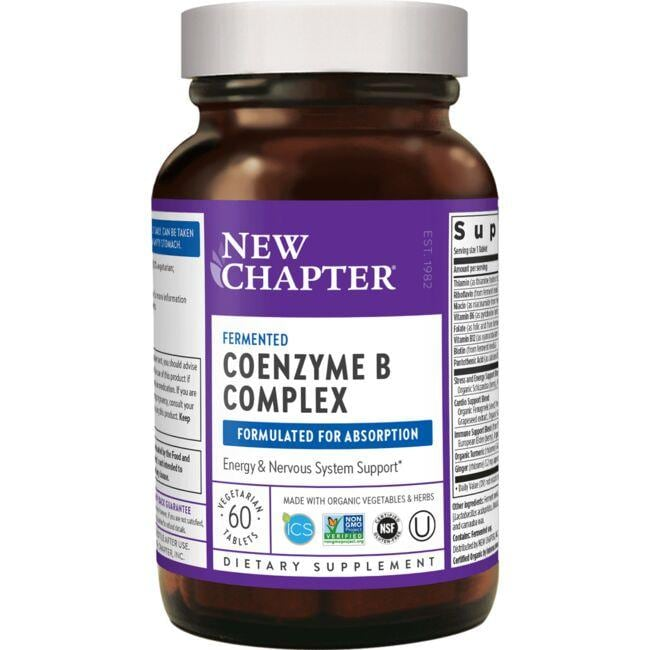 New ChapterCoenzyme B Food Complex