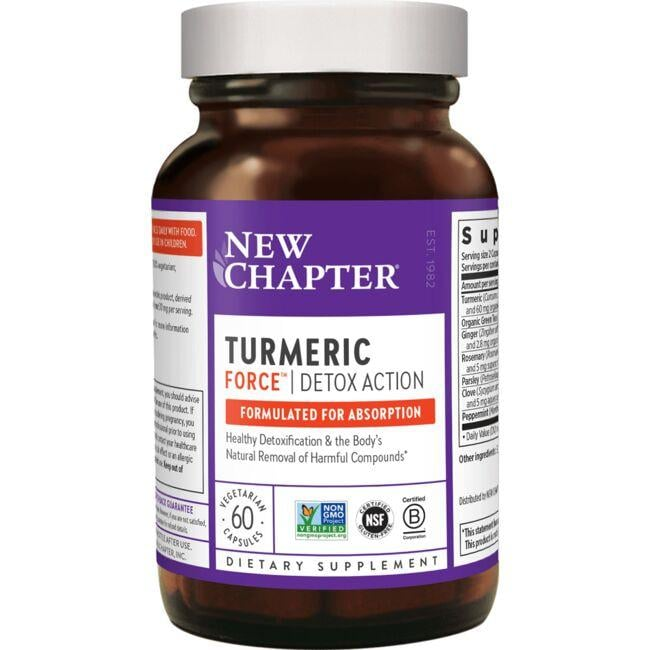 New Chapter Turmeric Force Detox Action