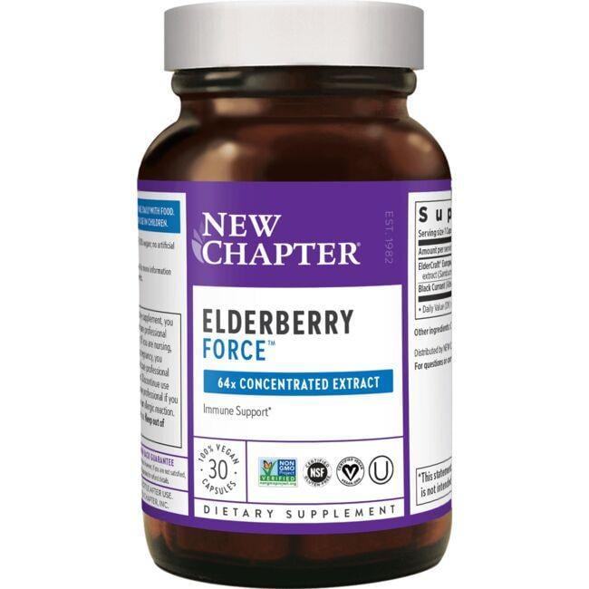 New Chapter Elderberry Force