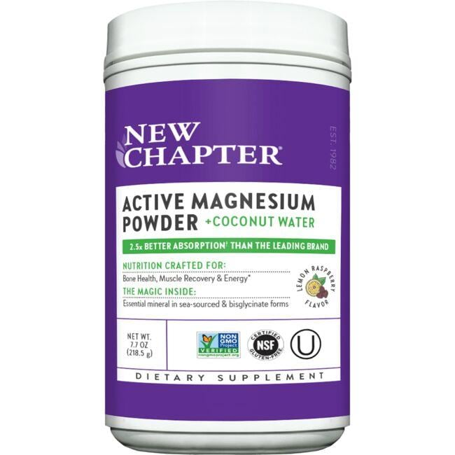 New Chapter Active Magnesium Powder