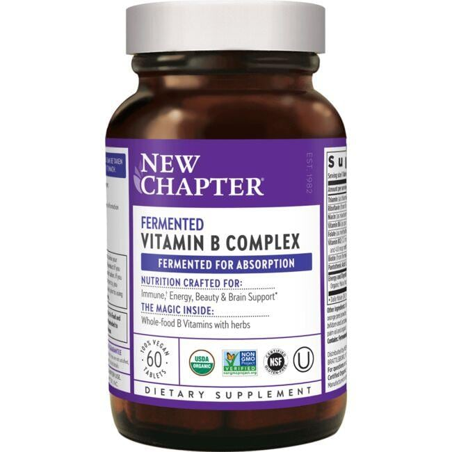 New Chapter Fermented Vitamin B Complex
