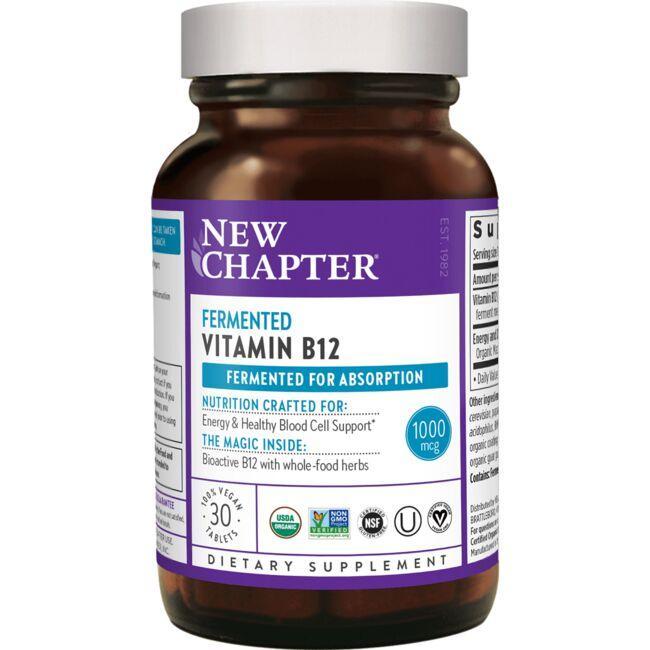 New ChapterFermented Vitamin B12