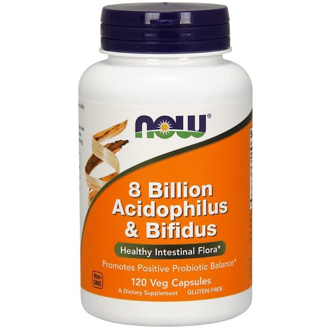NOW Foods 8 Billion Acidophilus & Bifidus
