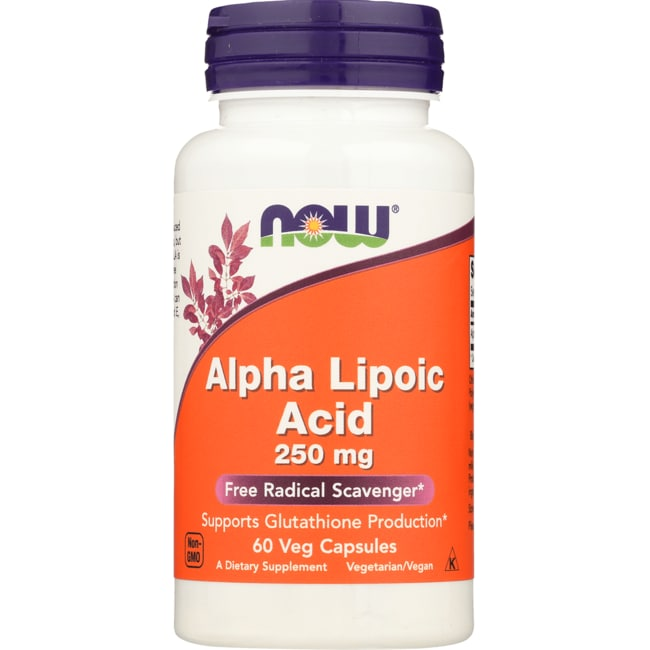 NOW FoodsAlpha Lipoic Acid 250 mg