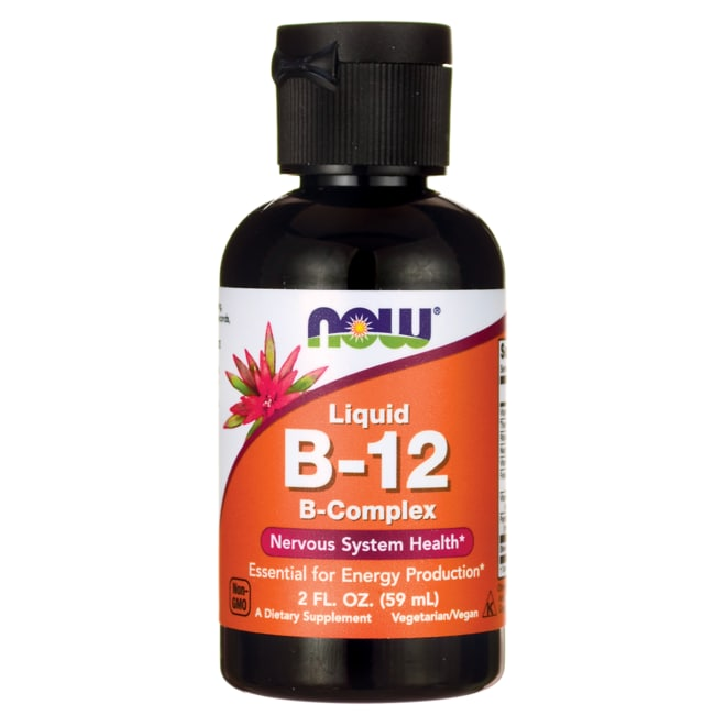 NOW Foods B-12 Liquid B Complex