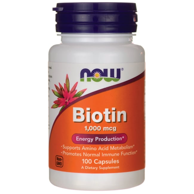 NOW FoodsBiotin 1000 mcg