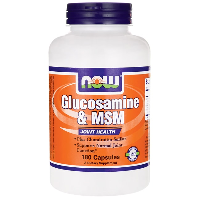 NOW FoodsGlucosamine & MSM