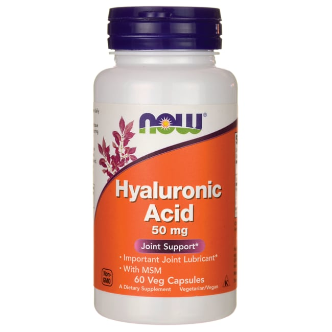 NOW Foods Hyaluronic Acid with MSM