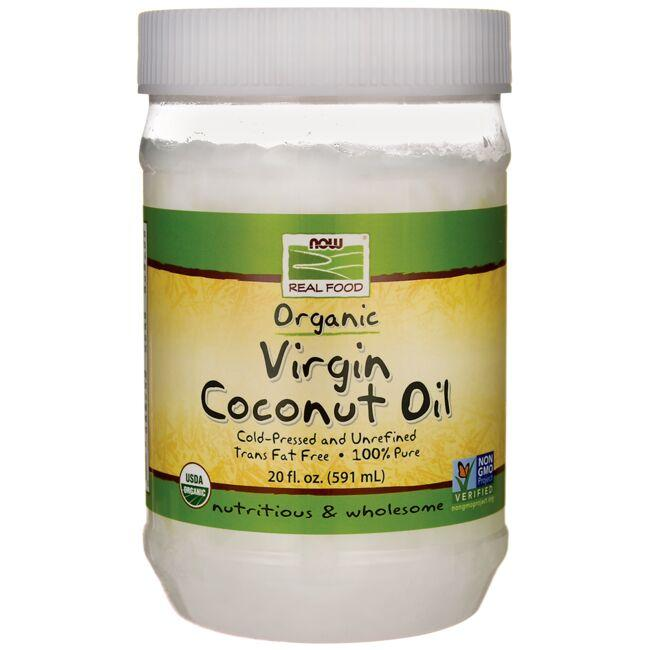 NOW FoodsOrganic Virgin Coconut Oil