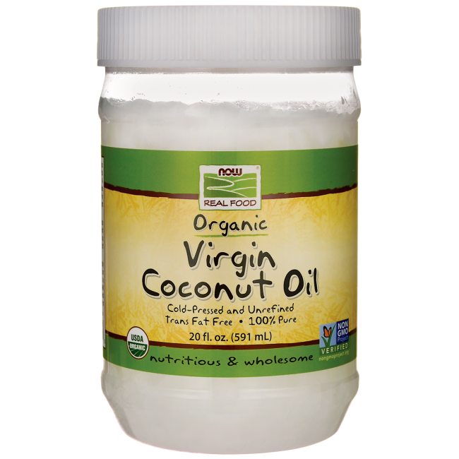 NOW FoodsOrganic Virgin Coconut Oil
