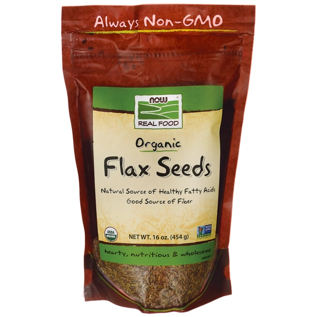 NOW FoodsOrganic Flax Seed