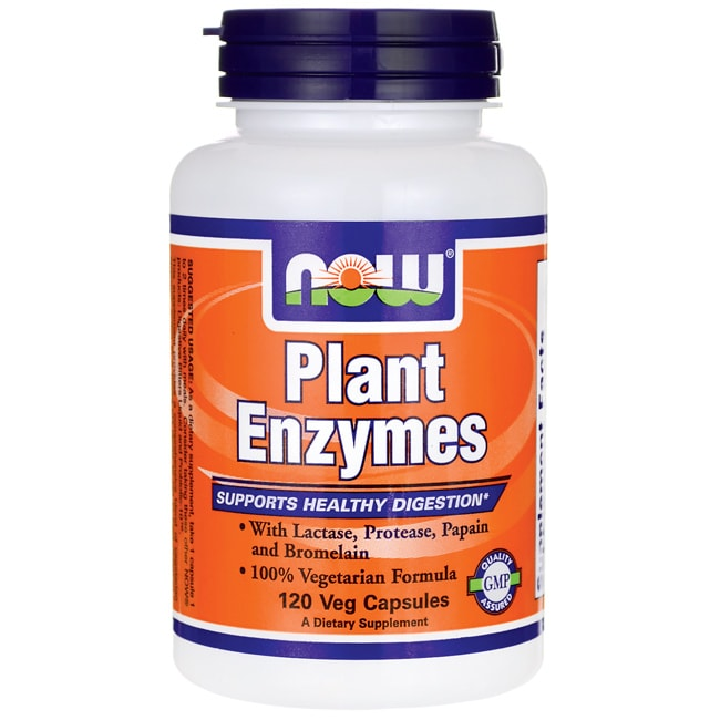 NOW FoodsPlant Enzymes