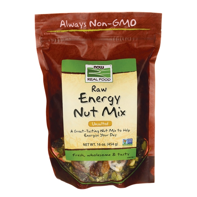 NOW FoodsRaw Energy Nut Mix - Unsalted