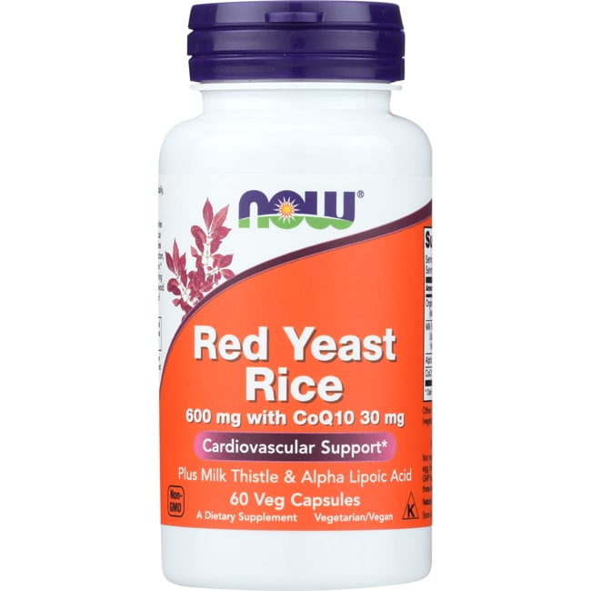 NOW Foods Red Yeast Rice & CoQ10