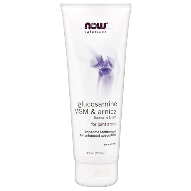 NOW FoodsGlucosamine, MSM & Arnica Liposome Lotion