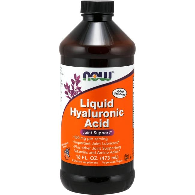 NOW Foods Liquid Hyaluronic Acid - Berry