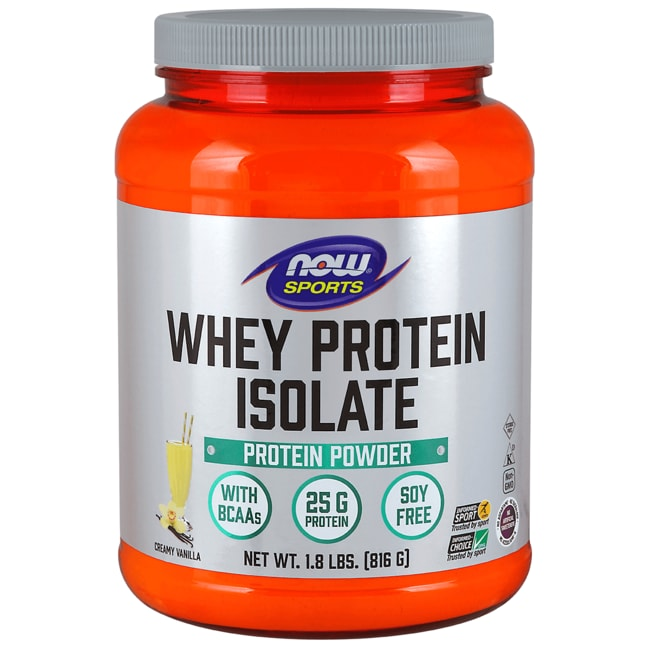 NOW FoodsWhey Protein Isolate Natural Vanilla