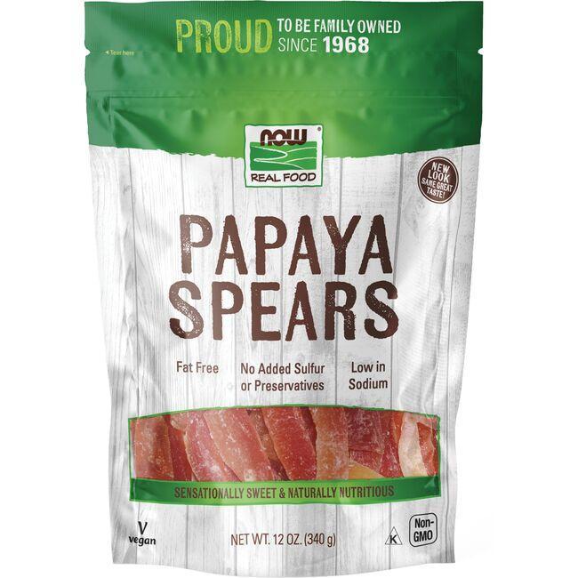 NOW FoodsPapaya Spears