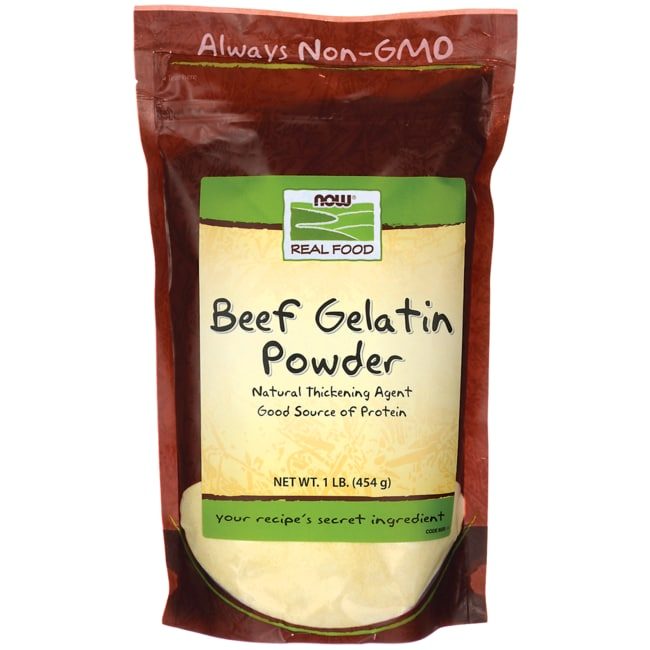 NOW FoodsBeef Gelatin Powder