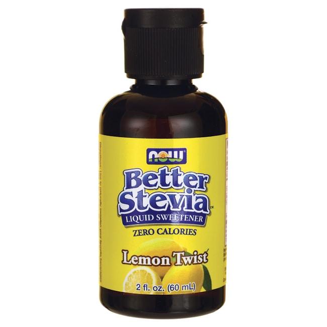 NOW FoodsBetter Stevia Liquid Sweetener - Lemon Twist