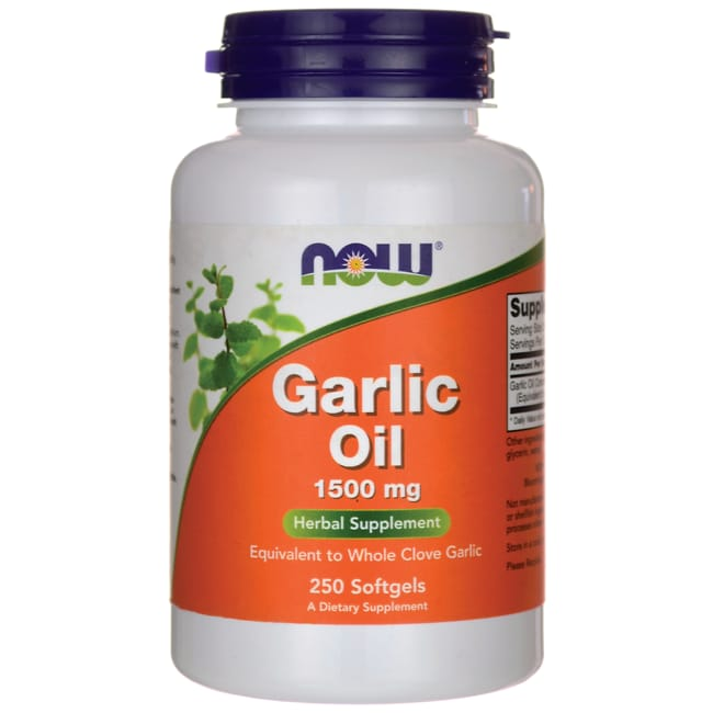 NOW FoodsGarlic Oil
