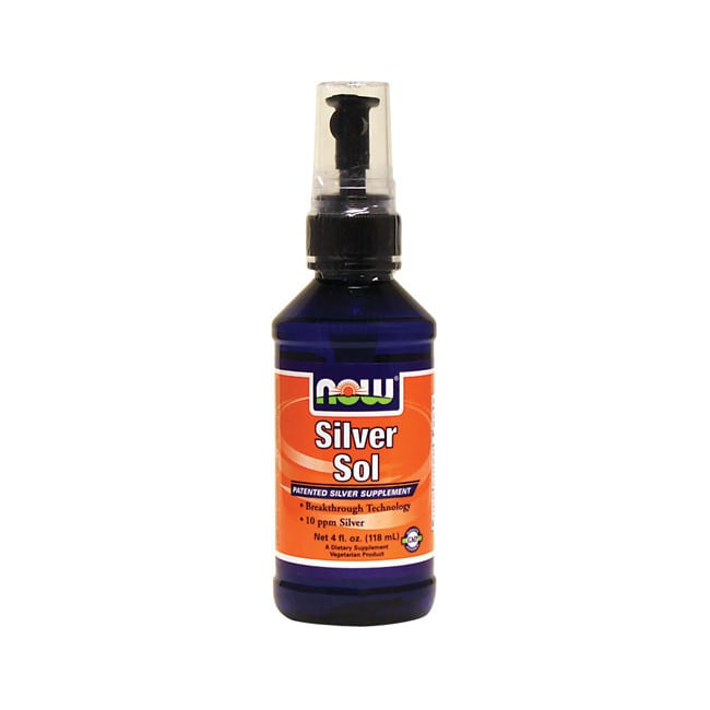 NOW Foods Silver Sol Spray