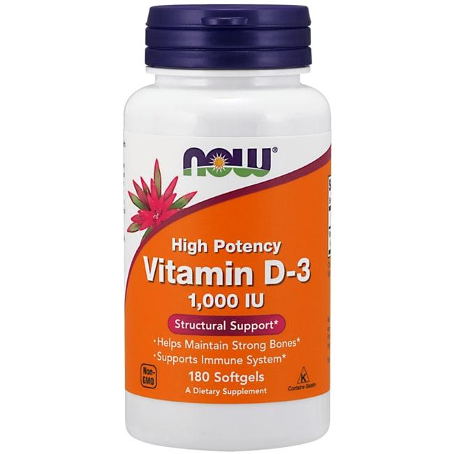 NOW Foods Vitamin D-3 1,000 IU
