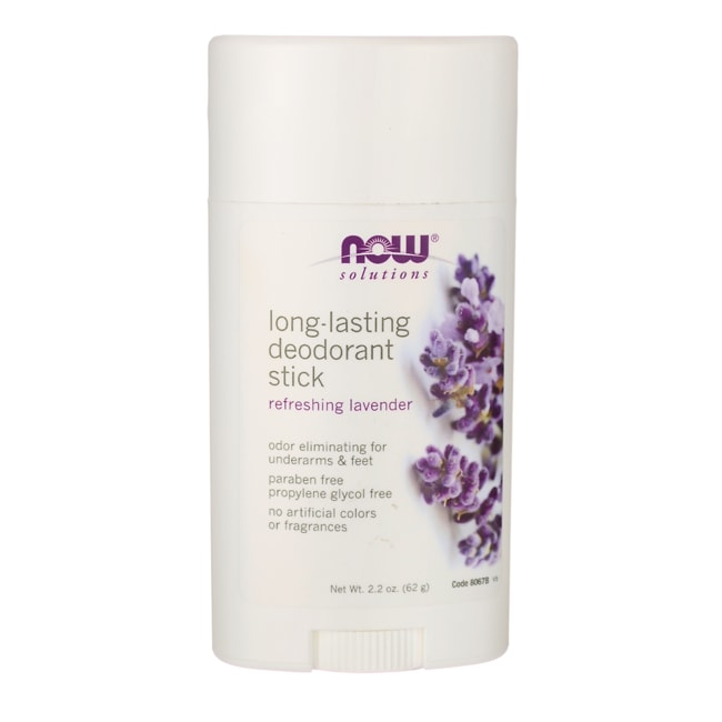 NOW FoodsLong-Lasting Deodorant Stick - Refreshing Lavender