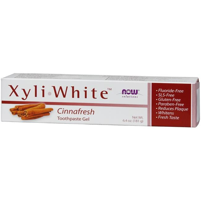 NOW FoodsXyliWhite Toothpaste Gel - Cinnafresh