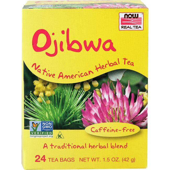 NOW Foods Ojibwa Native American Herbal Tea