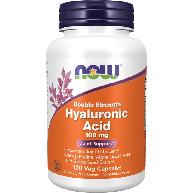 NOW Foods Hyaluronic Acid Double Strength