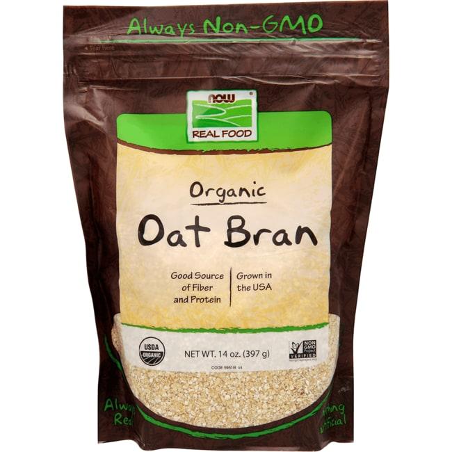 NOW Foods Organic Oat Bran