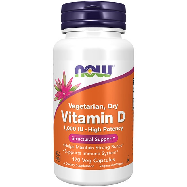 NOW Foods Vitamin D 1,000 IU