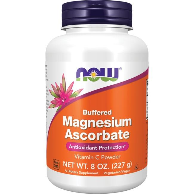 NOW Foods Pure, Buffered Magnesium Ascorbate