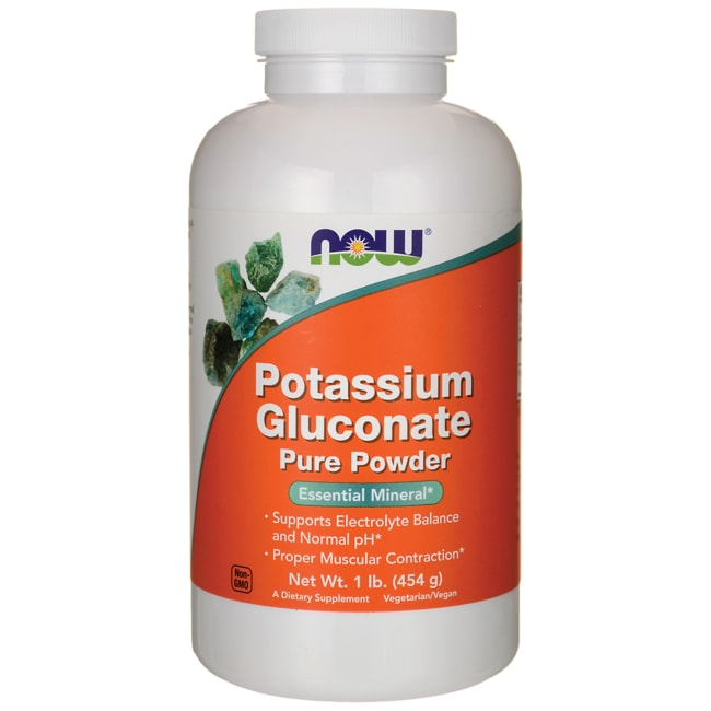 NOW FoodsPotassium Gluconate Pure Powder