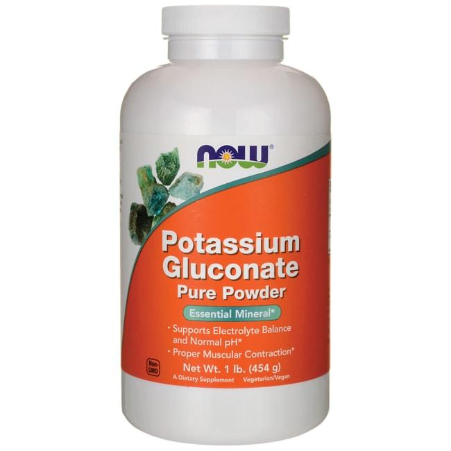 NOW Foods Potassium Gluconate Pure Powder