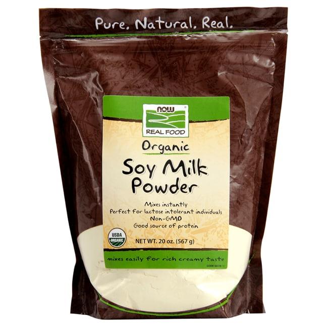NOW Foods Organic Soy Milk Powder