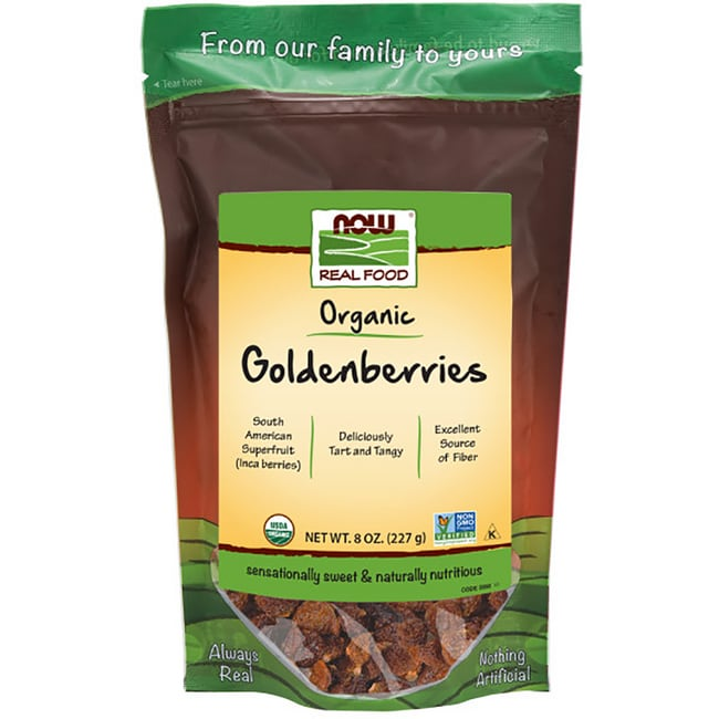 NOW FoodsCertified Organic Golden Berries
