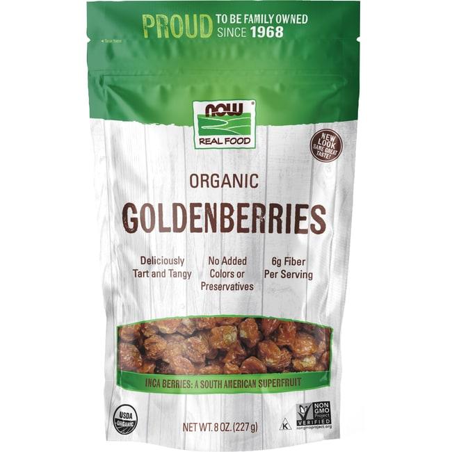 NOW Foods Certified Organic Golden Berries