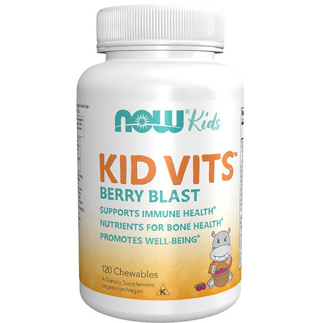 NOW FoodsKid Vits - Berry Blast