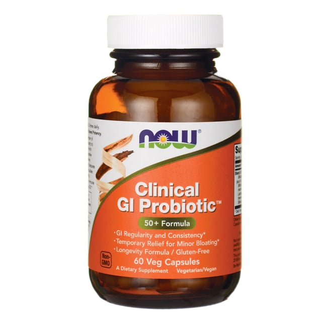 NOW Foods Clinical GI Probiotic 50+ Formula