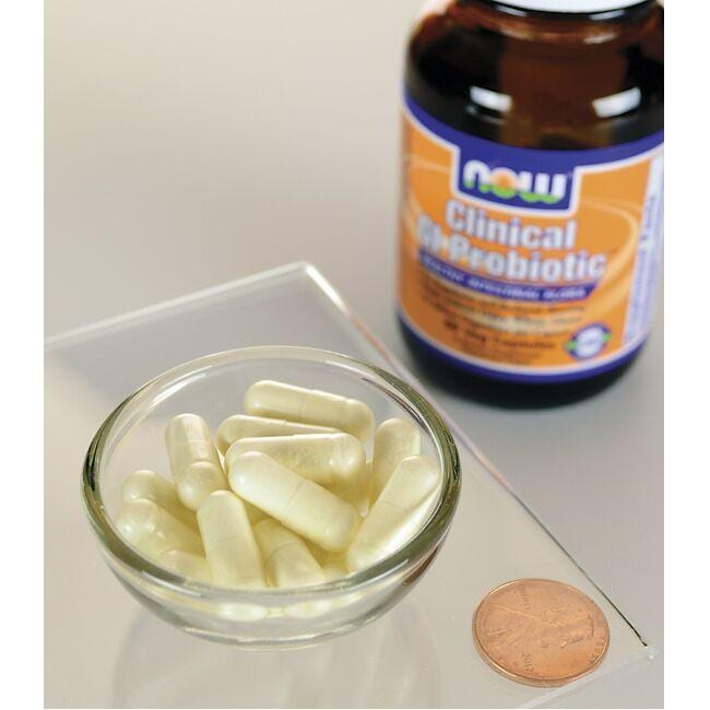 NOW FoodsClinical GI Probiotic 50+ Formula Close Up
