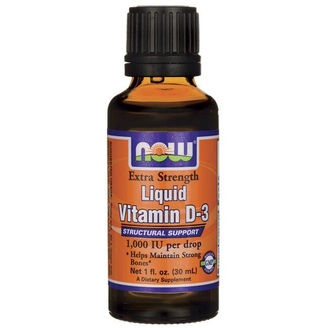 NOW Foods Liquid Vitamin D-3 Extra Strength