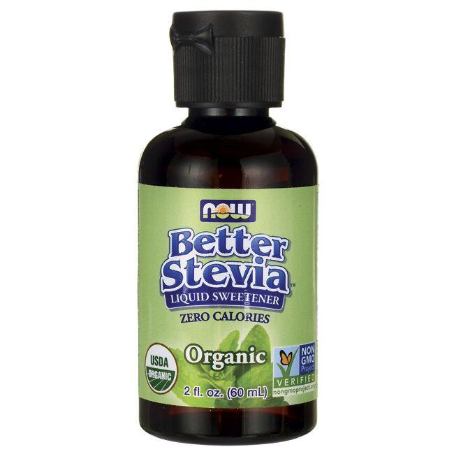 NOW FoodsBetter Stevia Liquid Sweetener - Organic
