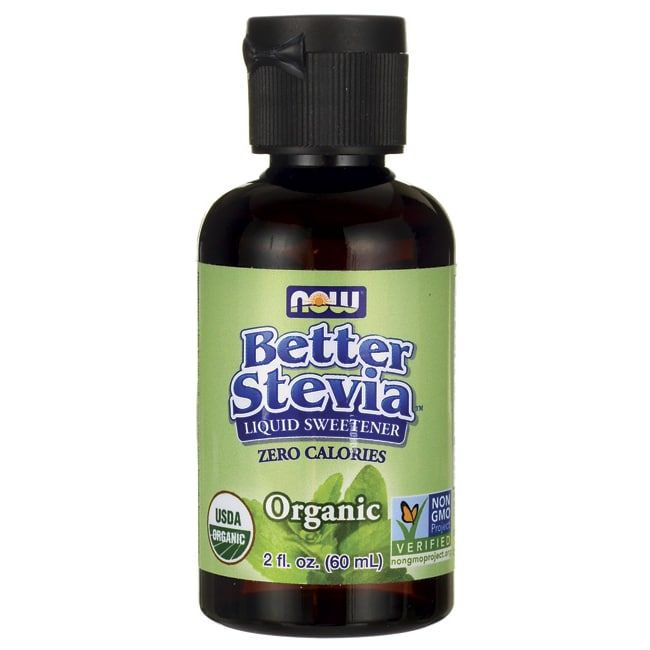 NOW FoodsBetter Stevia Liquid Sweetener - Organic