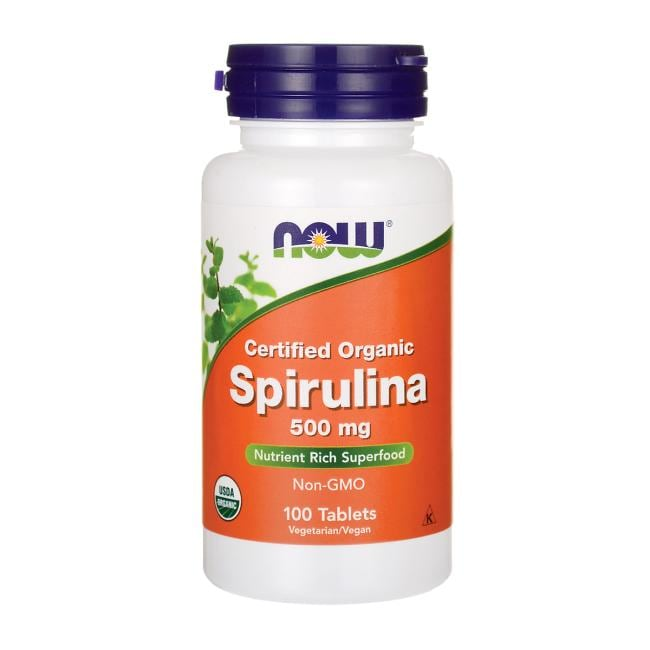 NOW Foods Certified Organic Spirulina