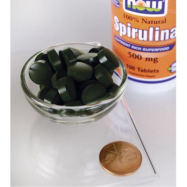 NOW FoodsCertified Organic Spirulina Close Up