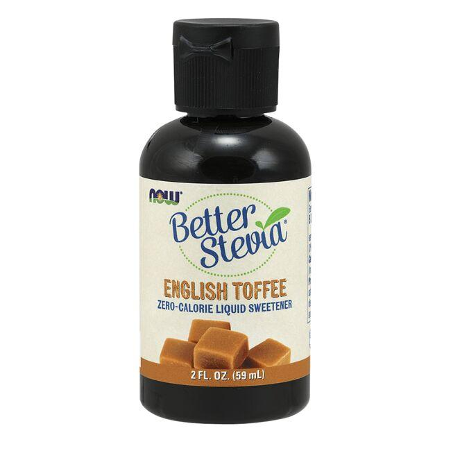 NOW FoodsBetter Stevia Liquid Sweetener - English Toffee