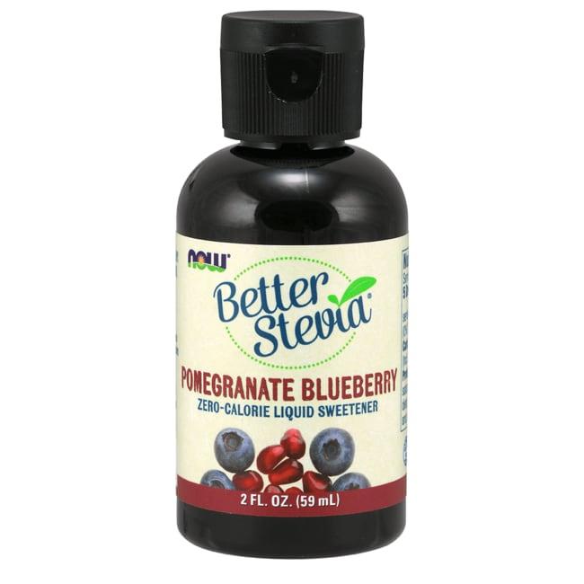 NOW FoodsBetter Stevia Liquid Sweetener - Pomegranate Blueberry