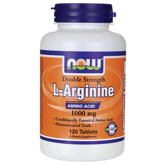 NOW Foods L-Arginine 1,000 mg 120 Tabs - Swanson Health ...